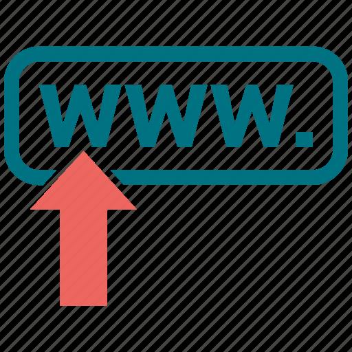 address, link, web, www icon