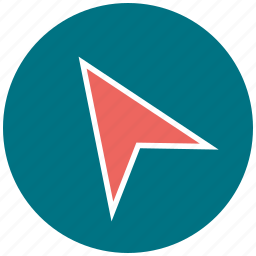 arrow, map, point, pointing, right icon