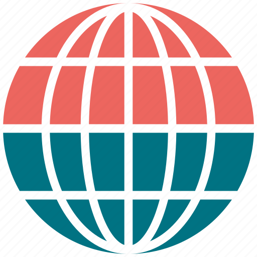 earth, globe, international, sphere icon