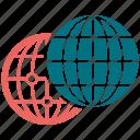 earth, globe, international, sphere