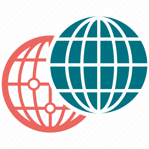 earth, globe, international, sphere icon