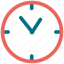 clock, ten o' clock icon