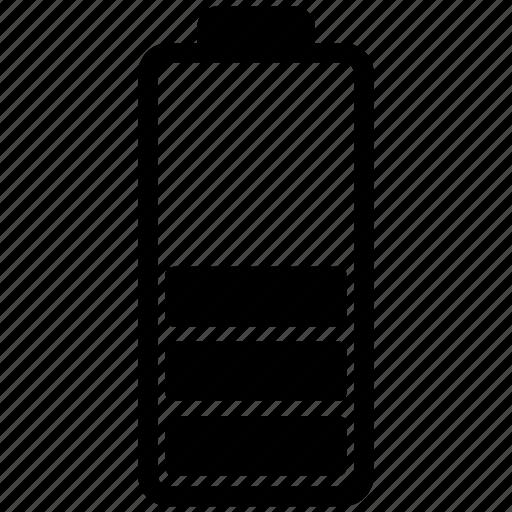 battery, charging, level, status icon