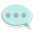 chat, chatting, communication, message, msg, talk icon
