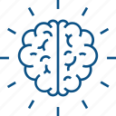 brain, brain diagram, brain performance, brain structure, human brain icon icon