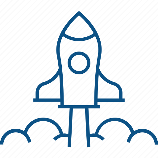 boost, business, company, rocket, startup icon icon