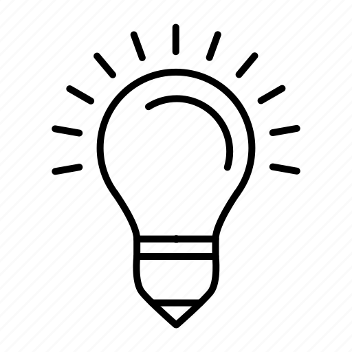 bulb, creative, energy, lamp, light icon