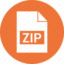 compress, extension, format, zip icon