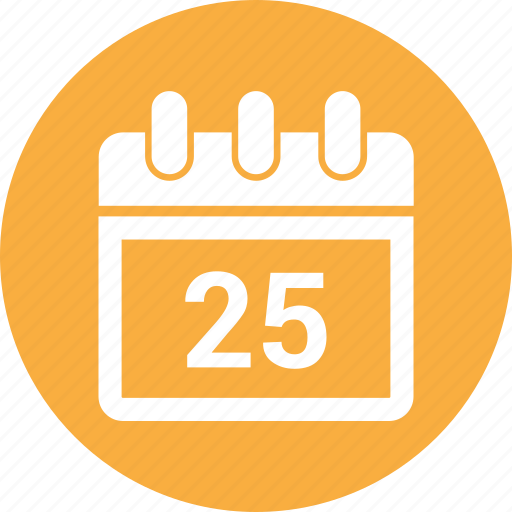 calendar, event, month, period, schedule, time icon