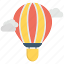 air, balloon, hot, sky, transportation icon