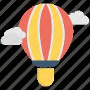 air, balloon, hot, sky, transportation
