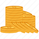 business, cash, coin, dollar, money icon
