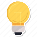 bulb, idea, lamp, light, lightbulb icon