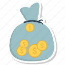 bag, business, dollar, money, payment icon