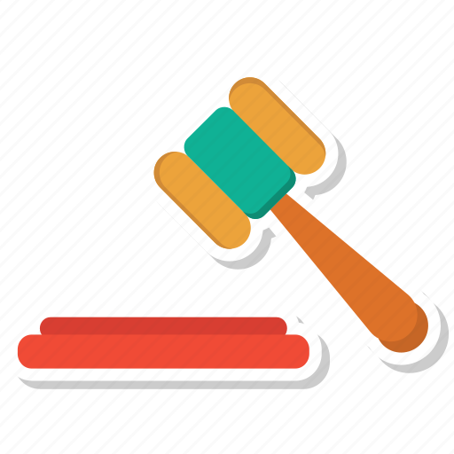 construction, hammer, law, legal insurance, nail, tools icon