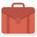 bag, business, case, finance, office, office bag, portfolio icon