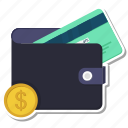 atm, card, coin, dollar, money, wallet icon
