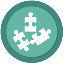 organization, puzzle, seo, structure icon
