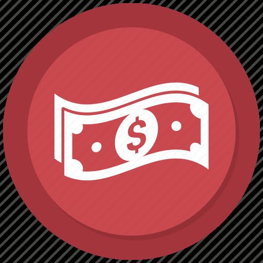 Currency, dollar, cash, money icon