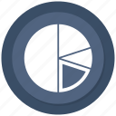 analystic, chart, pie, report icon