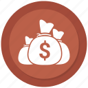 bag, dollar, money icon icon icon