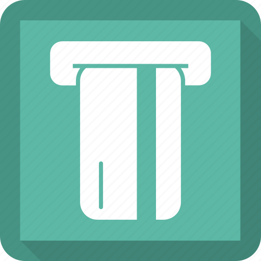 atm, atm machine, dollar, withdrawal icon