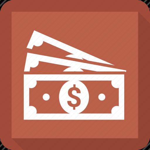 cash, currency, dollar, finance icon