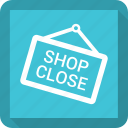 close, shop icon