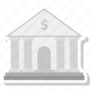 bank, column, forum, guarantor icon