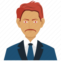business, male, man, office icon