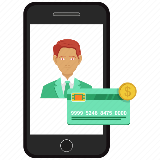 atm card, bank card, credit card, dollar, mobile, online money send, plastic money icon