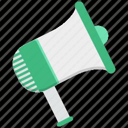 announcement, annunciation, broadcast announcement, important report, proclamation, pronouncement, urgent notice icon