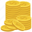 cash, coins, money icon