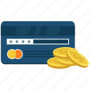 atm card, bank card, credit card, dollar, plastic money icon