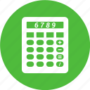 caculate, calculator, figures, mathematics icon