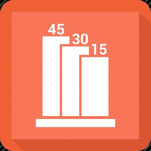 bar, chart, graph, revenue growth icon