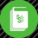 book, business, dollar, guidelines, handbook, manual