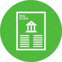 bank, banking, loan, loan agreement, loan application, loan paper icon