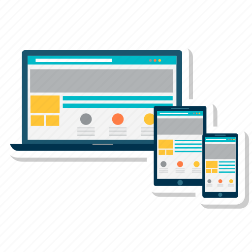 adaptive, development, devices, responsive, site icon