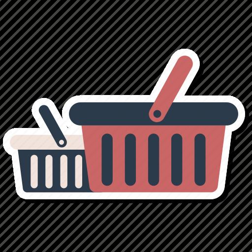basket, cart, commerce, shopping basket icon
