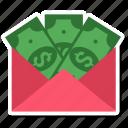 bills, cash, dollar, money