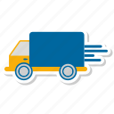deliver, shipping, truck