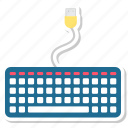 computer, keyboard icon