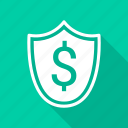 dollar, protection, safety, secure, security icon