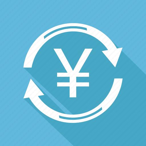 coin, finance, money, yen icon