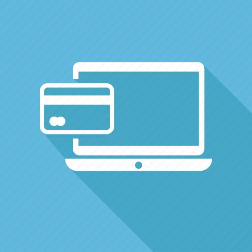 atm, card, laptop, lapy icon
