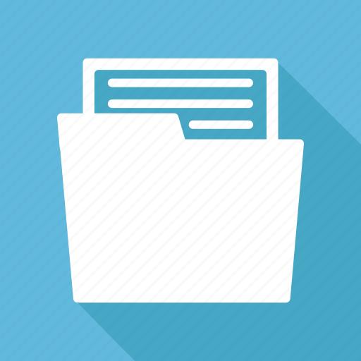 document, documents, file, folder icon