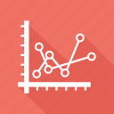 analytics, business, financial graph, sales growth icon