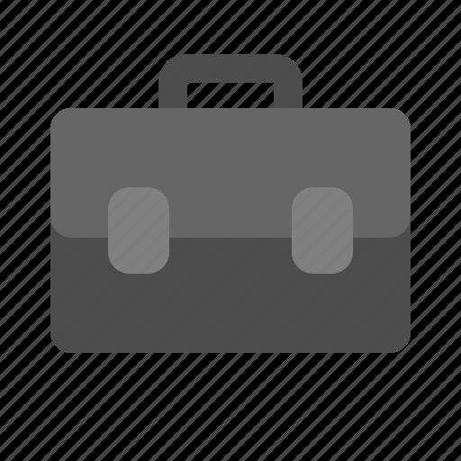 brief, business, case, person icon