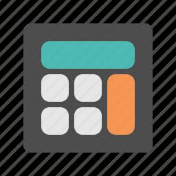 calc, calculator, data, number, profit icon